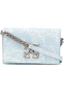 Off-White 0.5 Waves Jitney Crossbody Bag - Azul