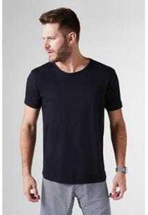 Camiseta Basica Leve Reserva Masculina - Masculino-Preto