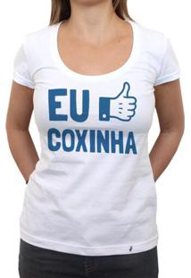 Eu Curto Coxinha - Camiseta Clássica Feminina