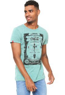 Camiseta Coca-Cola Jeans Enjoy It Verde