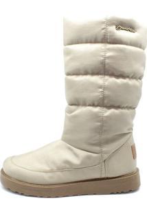 Bota Barth Shoes Snow Bege - Bege - Feminino - Dafiti