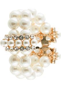Dolce & Gabbana Pulseira Com Esferas Peroladas - Branco