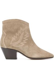 Isabel Marant Ankle Boot Dacken - Verde