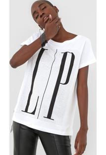 Camiseta Lança Perfume Aplicações Branca - Kanui