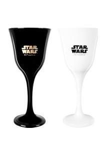Conjunto De Taças - 250 Ml - 02 Peças - Star Wars - Disney - Nadir Figueiredo