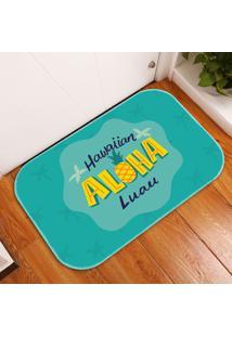 Tapete Decorativo Aloha Luau ÚNico - Multicolorido - Dafiti