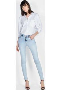 Calça Kim Super Skinny Azul Azul