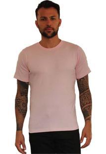 Camiseta Versatti Fram Rosa