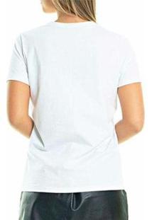T-Shirt Pinscher Colors Buddies Feminina - Feminino-Branco