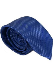 Gravata Azul Tradicional Levok