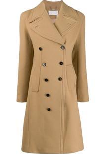 Chloé Double Breasted Coat - Neutro