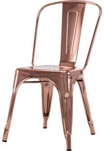 Cadeira Iron Espelhada Cobre - 50076 - Sun House