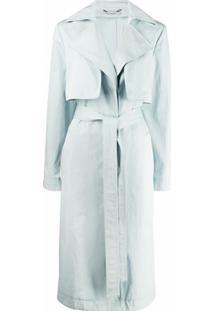 Stella Mccartney Trench Coat - Azul