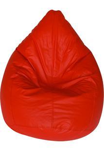 Puff Redondo Perão Cipaflex Vermelho - Stay Puff