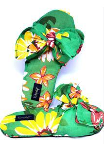Pantufa Kataploft Coleção Chiquita Bacana Floral