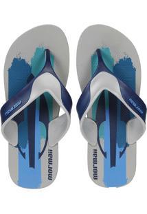 Sandália Mormaii Neocycle 2.0 Cinza/Azul