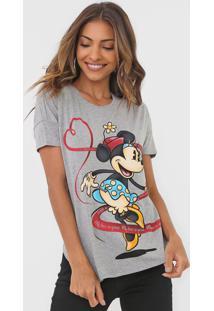 Blusa Cativa Disney Mickey Cinza