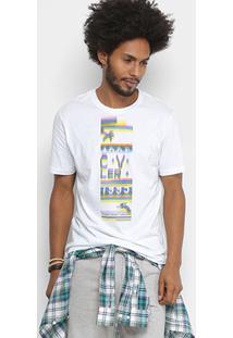 Camiseta Cavalera 90'S Masculino - Masculino-Branco