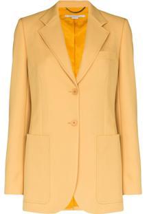 Stella Mccartney Blazer De Alfaiataria - Amarelo