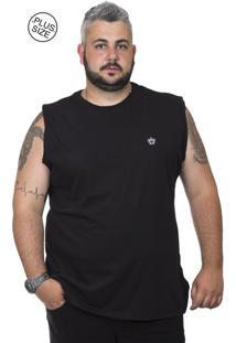 38395d8b35 Dafiti. Regata Plus Size Bigshirts Preta