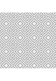 Papel Adesivo Sunset Adesivos De Parede Geométrico Labirinto Cinza - Rolo 3,00 X0,50 M