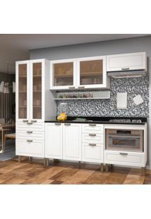 Cozinha Completa 7 Peças Americana Multimóveis 5684 Branco