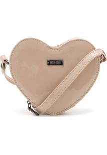 Bolsa Santa Lolla Coração Nude