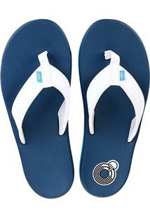 Chinelo Nike Kepa Kai Thong Masculino - Masculino-Branco+Azul