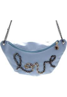 Bolsa Teca 20071 Pochete 655499 - Feminino-Azul