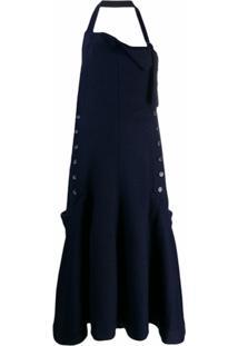 Jacquemus Vestido La Robe Tablier - Azul