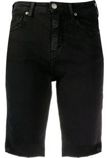 Iro Bermuda Jeans - Preto