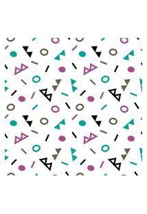 Papel De Parede Geométrico Colorido Em Rolo M3