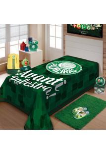 Cobertor Solteiro Jolitex Palmeiras Avanti Palestra