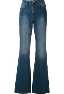 Eva Calça Jeans Flare - Azul