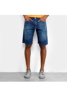 Bermuda Jeans Hd Ly-5207A Masculina - Masculino