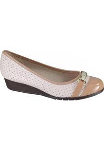 Sapato Feminino Moleca Anabela
