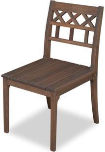 Cadeira Isabella Stain Castanho - 21206 - Sun House