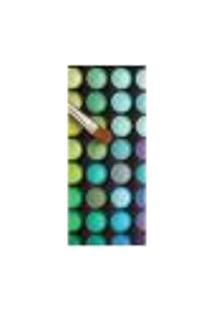 Adesivo Decorativo De Porta - Salão De Beleza - Maquiagem - 1036Cnpt