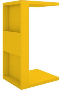 Mesa De Apoio Book Mdp 15Mm Amarelo Líder Design