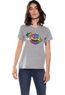 Camiseta Levis The Perfect Feminina - Feminino-Cinza