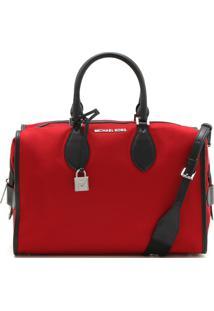 Bolsa Michael Kors Connie Lg Duffle Bag Vermelho