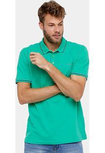 Camisa Polo Colcci Piquet Frisos Básica - Masculino