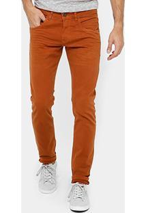 Calça Skinny Rock & Soda Sarja Color Masculina - Masculino