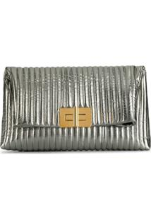 Tom Ford Bolsa Clutch Natalia - Prateado