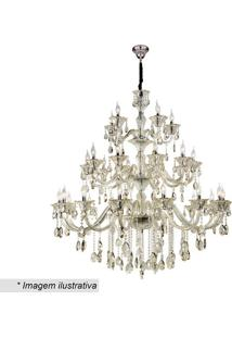Lustre Maria Theresa- Bege- 138Xø130Cm- Bivolthevvy