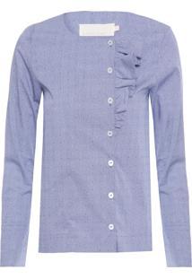 Camisa Feminina Alcor - Azul