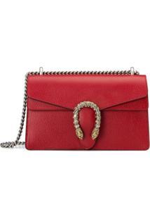 Gucci Bolsa Tiracolo Dionysus Pequena - Vermelho