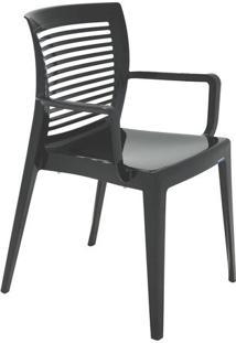 Cadeira Victoria- Preta- 83X61X54,5Cm- Tramontintramontina