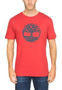 Camiseta Manga Curta Kennebec Rvr Tree Tee