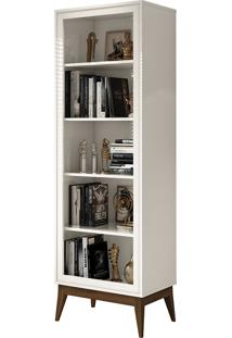 Estante Livreiro Garbo Off White E.D.N